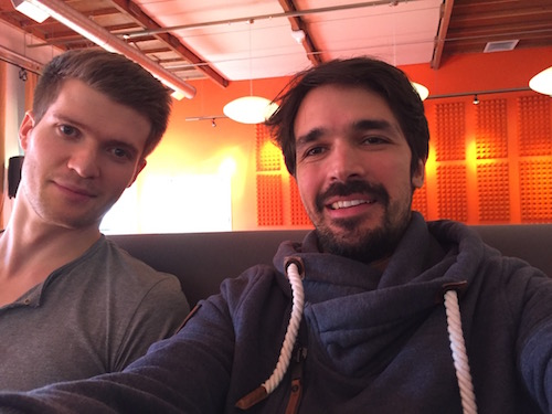Ali und Christopher bereiten sich auf Y Combinator vor